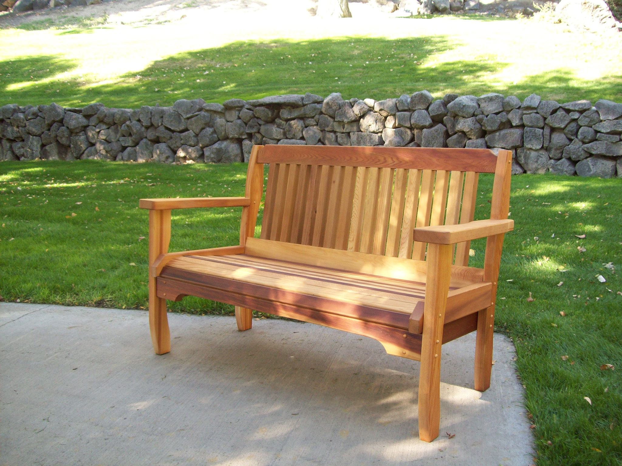 Handbuilt Hardwood Lawn Furniture