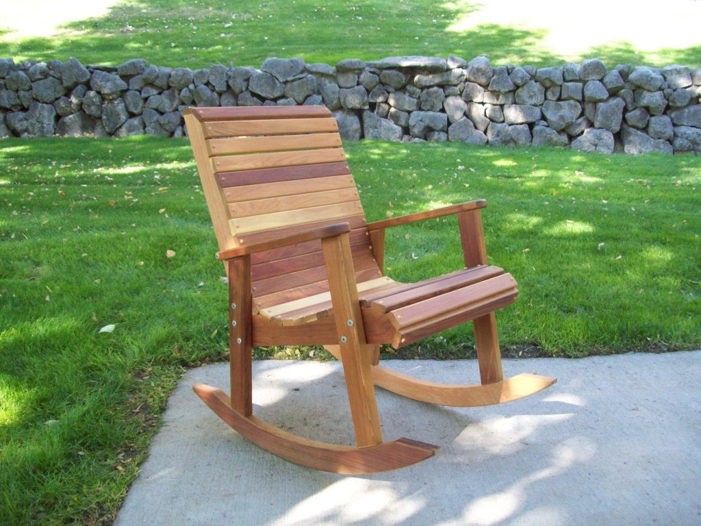 T&L Cedar Rocking Chair